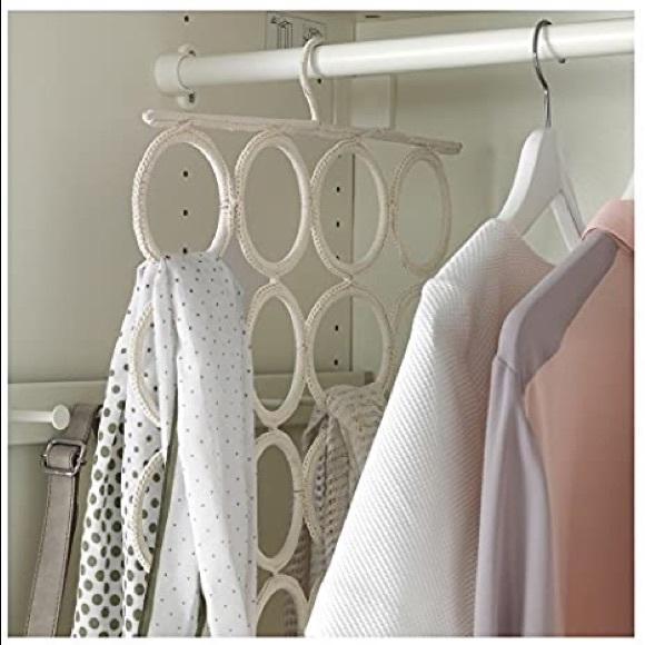 IKEA Komplement Woven 28 Scarf Hanging Organizer